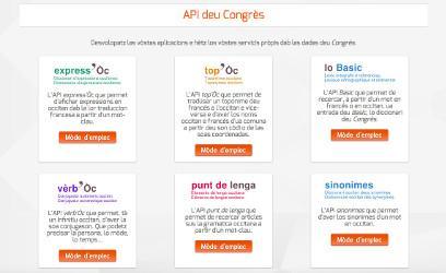 API deu Congrès