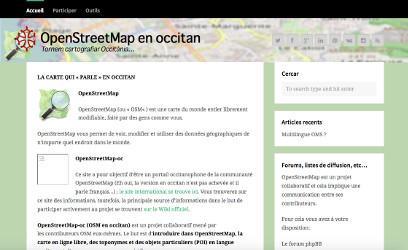 OpenStreetMap en occitan